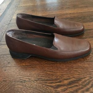 Munro leather comfort loafers, EUC! Size 11